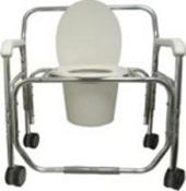 PCB-1326 650lbs cap, Bariatric Shower Commode